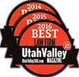 DexterLaw - Utah Valley Magazine 2016 Best Law Firm