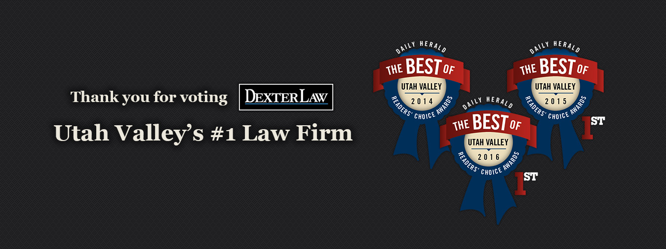Voted Utah County's #1 Law Firm by Readers of the Daily Herald