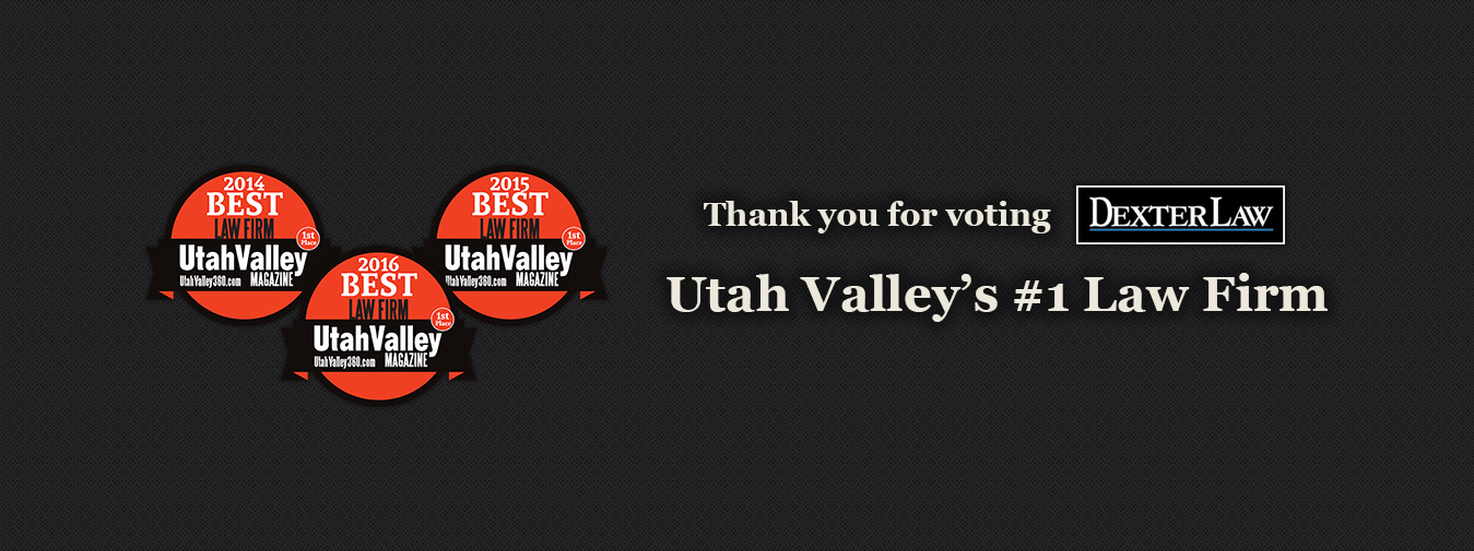 Voted Utah Valley's #1 Law Firm by Readers of UV Magazine
