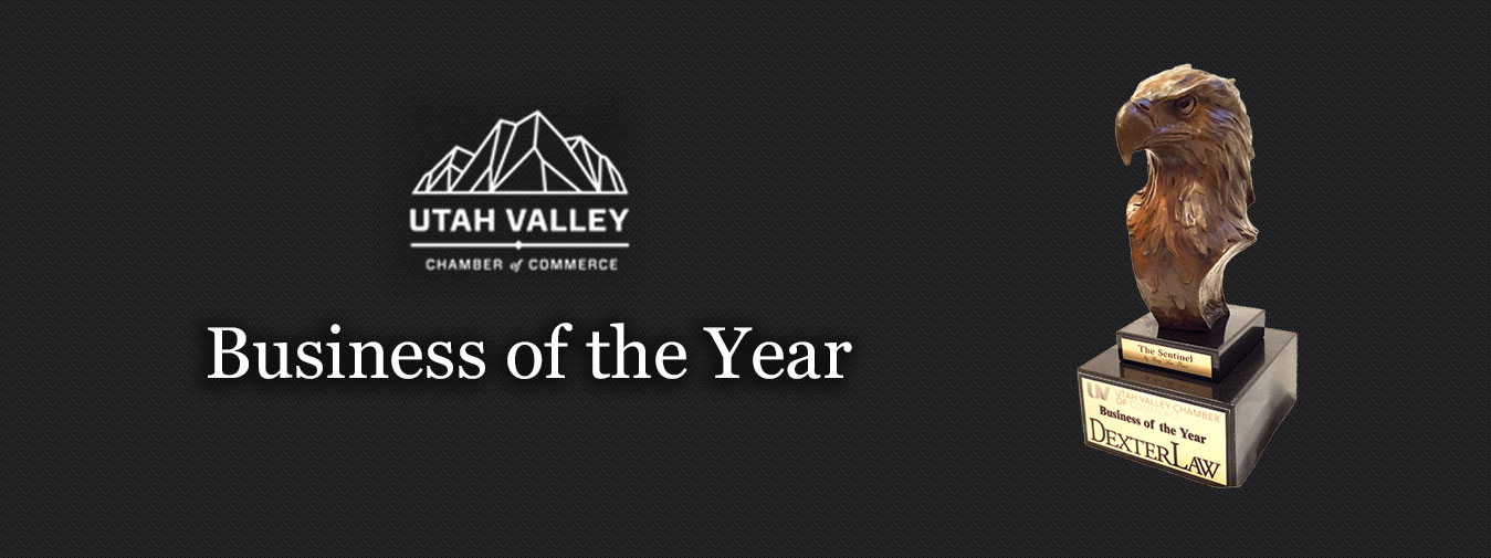 Utah Valley Chamber of Commerce Business of the Year